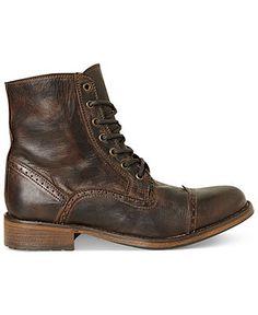 Steve Madden Men's Shoes, Nathen Boots - Boots - Men - Macy's