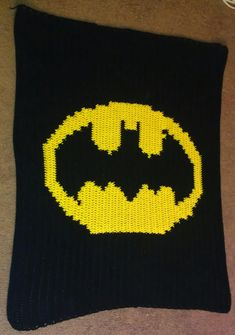 Hey, I found this really awesome Etsy listing at http://www.etsy.com/listing/125685122/batman-blanket-crochet-pattern