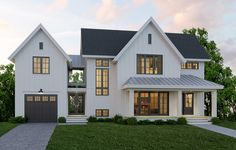 33 Best Modern Farmhouse Exterior House Plans Design Ideas Trend In If you are looking for [keyword], You come to the right place. Below are the 33 Best Modern Farmhouse Exterior House Plans Des. Modern Farmhouse Exterior, Farmhouse Style, Farmhouse Decor, Farmhouse Front, Farmhouse Ideas, Farmhouse Architecture, Modern Farmhouse Floor Plans, Urban Farmhouse Designs, Farmhouse Addition