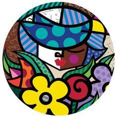 """Charm 2006 14"""" Diameter Serigraph on Paper Limited edition of 36 Gesso limited edition 36 Deckle limited edition 36"""