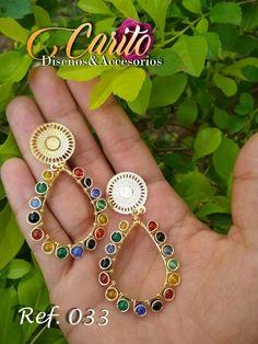 Diy Tassel Earrings, Wire Earrings, Diy Necklace, Trendy Jewelry, I Love Jewelry, Handmade Jewelry, Jewelry Making, Wire Wrapped Jewelry, Metal Jewelry