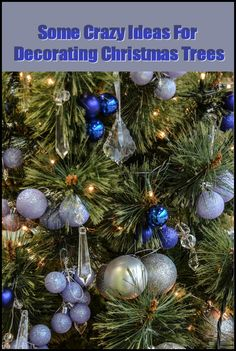 Everyone is trying to find great ideas for decorating Christmas trees! Homespun Christmas trees are moving to the side, it seems, for intricate themed trees with tree limbs full of carefully planned out decorations. Here are some great Christmas tree decoration ideas for this Christmas!