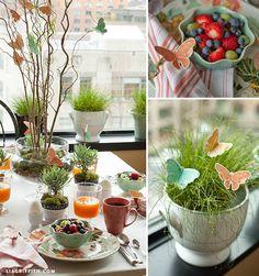 mesa flores e borboletas, mesa posta, decoração mesa, table setting, decor, tablescape, butterfly