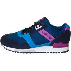 Zapatillas Adidas Originals ZX 700 Contemp Mujer Tinta / Azul / Orquídea / Gris  {KJvuHN} 1