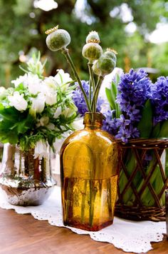 eclectic table decoration inspiration
