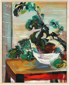 20th Century Abstracted Still Life by Phyllis Myers