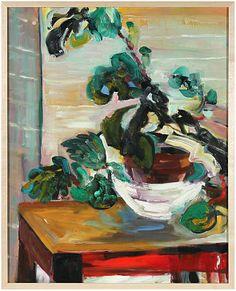 Century Abstracted Still Life by Phyllis Myers Art Lessons, Graphic Design Art, Art Prints, Illustration Artwork, Flower Art, Painting, Art, Plant Art, Music Art