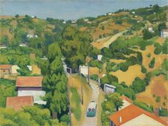 Beau temps à Montplaisant (1941) ~ Albert Marquet ~ (French: 1875-1947)
