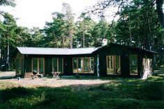 Fritidshus på Fårö, Gotland av Apertura.