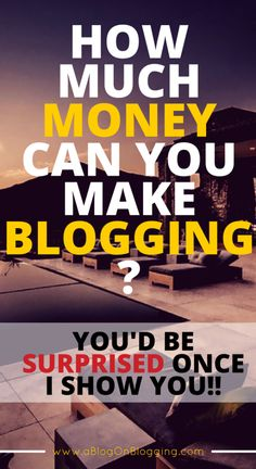 Do you know the highest earning blog site earns over $2 million a month?  Today's post is going to show you how much money can you make blogging and as you'll
