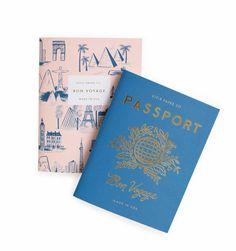 Passport Pair of Pocket Notebooks