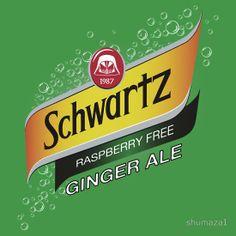 Schwartz ginger ale