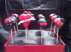 Rockabilly cake pops by Kristy