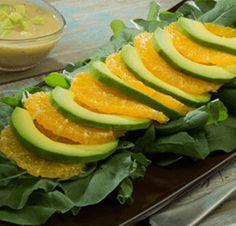 Avocado Salad Center I Avocados From Mexico Avocado Vinaigrette, Avocado Salad, Salad Recipes Healthy Lunch, Healthy Salad Recipes, Grapefruit Salad, Avocados From Mexico, Homemade Honey Mustard, Cucumbers And Onions