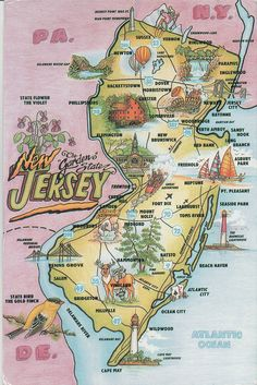 New Jersey:  the Garden State by hippofairy, via Flickr