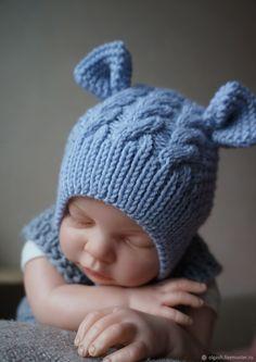 Шапочка модель МШ-21 - купить или заказать в интернет-магазине на Ярмарке Мастеров | Шапочки для новорожденных должны быть максимально…