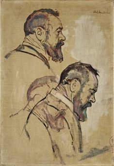 Emil Orlik, Portrait of Hodler
