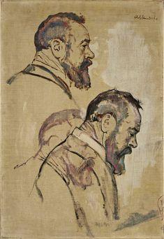 Emil Orlik, Portrait of Hodler