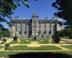 Château de Cadillac en Aquitaine, France.
