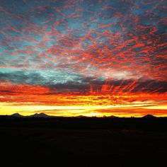 Sunset in Central Oregon ------------------------ @ linzsmith55