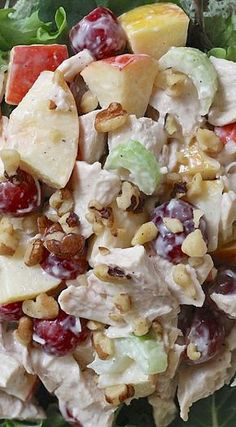 Roast Chicken Waldorf Salad