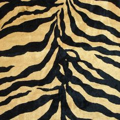 Tiger Skin  Velvet Fabric With Printing Technique by FabricMart, $10.20