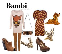 """""""Bambi"""" by bforbel ❤ liked on Polyvore featuring Givenchy, Nobody Denim, Nelly Accessories, Wildfox, Alexander Wang, Madison Harding and Audrey Brooke"""