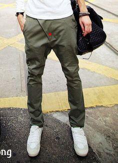 men skinny pants 0037