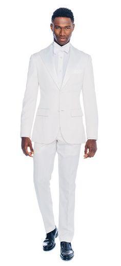 Premium White Tuxedo