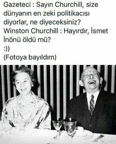 Inonu ve Churchill