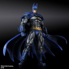 Batman Arkham City Play Arts Kai Action Figure Batman 1970s Batsuit Skin 24 cm