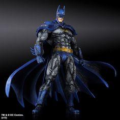 Batman Arkham City Play Arts Kai Action Figure Batman 1970s Batsuit Skin 24 cm
