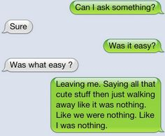 was it? was it really that easy? because it seems like it.