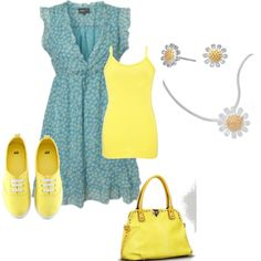 Daisy madness, created by jenifer-martin-wood on Polyvore