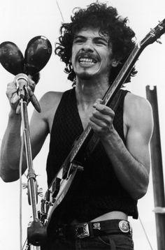 Santana at Woodstock   Carlos Santana at Woodstock   Z ROCK BLOG
