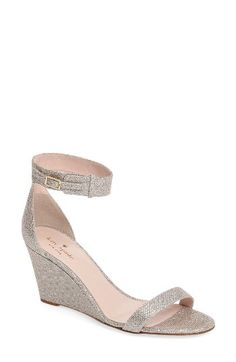 kate spade new york kate spade new york 'ronia' wedge sandal (Women) available at #Nordstrom