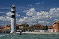 Murano lighthouse | Flickr, Italy