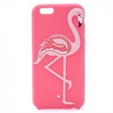 アメリカKate Spadeフラミンゴ シリコン製 iPhone 7/7 Plus/6/6Sケース保護カバーアイフォン6plusかわいいピンク