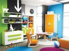 Muebles infantiles - dormitorios completos en www.ideasdemuebles.es Mario, Loft, Kids Rugs, Simple, Bed, Furniture, Home Decor, Search, Google