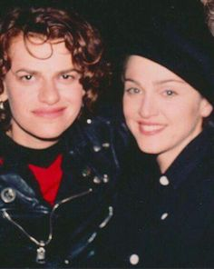 Madonna and Sandra