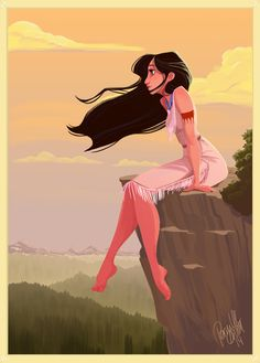 Pocahontas by Pernille