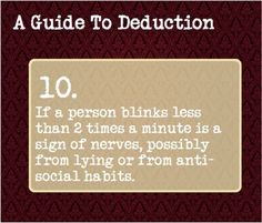 """A guide to deduction Observing is the first step to deducing. To quote Sherlock: """"You see, but you do not observe! Sherlock Bbc, Sherlock Fandom, Jim Moriarty, Sherlock Bored, Writing Tips, Writing Prompts, Essay Writing, Persuasive Essays, Argumentative Essay"""