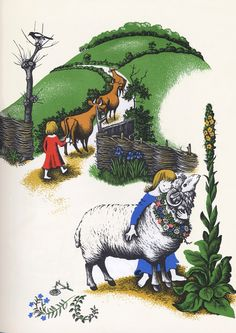 Chanticleer and the Fox, illustrated by Barbara Cooney