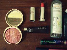 Favorites: August 2013 // laura geller // lancome // becca // boots botanics // revlon grow luscious // real techniques // origins // bareminerals // lush