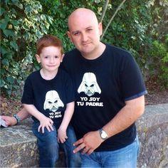 #Camisetas Pack #StarWars #Camisetaspersonalizadas #regalo #DíadelPadre  Camiseta #YosoytuPadre  #Camisetas #StarWars #Padre #Hijo  #Camiseta #YosoytuHijo