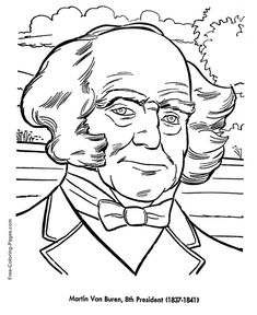 FREE Presidents Coloring Pages | 288x235