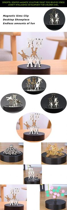 Dproptel Desktop Magnetic Sculpture Fidget Toys Relieves Stress Anxiety Intelligence Development For Children And Adults