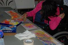 Adventures in Art- adapting art for special needs