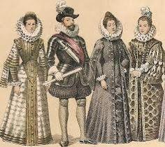 SIGLO XVI y XVII El control del lujo Se designaron las categorías  que debían distinguirse por el atuendo