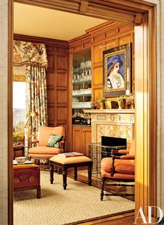 Interior Designer Suzanne Tucker designed this San Franciso home. I hope that you enjoyed visiting this gorgeous home. Architectural Digest, Traditional Interior, Contemporary Interior, San Francisco Houses, San Francisco Apartment, Georgian Architecture, Home Libraries, Custom Window Treatments, Up House